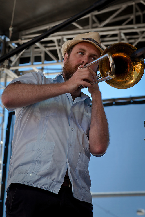 Klezmer Brass Band plays at the Montana Folk Festival