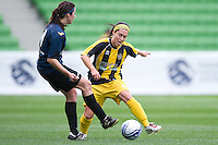 MELBOURNE, AUSTRALIA - SEPTEMBER 11, 2010: Grand Final of the 2010 WPL between Box Hill and Heidelberg at AAMI Park on September 11, 2010 in Melbourne, Australia. (Photo by Sydney Low / Asterisk Images)