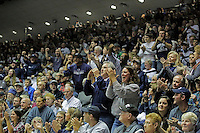 STATE COLLEGE, PA - JANUARY 25: Fans cheer during a match between the Minnesota Golden Gophers and the Penn State Nittany Lions on January 25, 2015 at Recreation Hall on the campus of Penn State University in State College, Pennsylvania. Minnesota won 17-16. (Photo by Hunter Martin/Getty Images) *** Local Caption ***