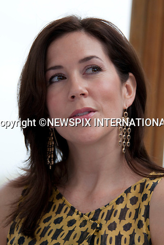 "CROWN PRINCESS MARY.at press conference given by the Danish Royals at the end of their State Visit to Vietnam, Event House Hotel Spa Resort, Ho Chi Minh City, Vietnam_05/11/2009..Mandatory Photo Credit: ©Dias/Newspix International..**ALL FEES PAYABLE TO: ""NEWSPIX INTERNATIONAL""**..PHOTO CREDIT MANDATORY!!: NEWSPIX INTERNATIONAL(Failure to credit will incur a surcharge of 100% of reproduction fees)..IMMEDIATE CONFIRMATION OF USAGE REQUIRED:.Newspix International, 31 Chinnery Hill, Bishop's Stortford, ENGLAND CM23 3PS.Tel:+441279 324672  ; Fax: +441279656877.Mobile:  0777568 1153.e-mail: info@newspixinternational.co.uk"