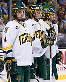 Patrick Cullity (Vermont - 4) - The Boston College Eagles defeated the University of Vermont Catamounts 4-0 in the Hockey East championship game on Saturday, March 22, 2008, at TD BankNorth Garden in Boston, Massachusetts.