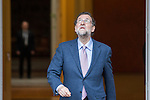 Spanish prime minister Mariano Rajoy before the the meeting with Ecuadorian prime minister Rafael Correa at Moncloa Palace in Madrid, Spain. January 30th 2017. (ALTERPHOTOS/Rodrigo Jimenez)