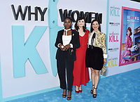"""BEVERLY HILLS, CA - AUGUST 07: (L-R) Kirby Howell-Baptiste, Ginnifer Goodwin and Lucy Liu attend the LA Premiere of CBS All Access' """"Why Women Kill"""" at Wallis Annenberg Center for the Performing Arts on August 07, 2019 in Beverly Hills, California.<br /> CAP/ROT<br /> ©ROT/Capital Pictures"""