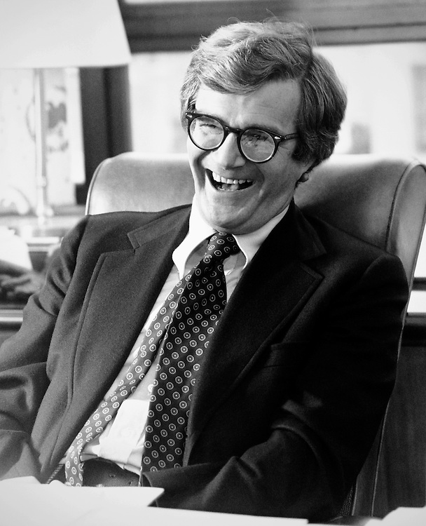 Sen. Rudy Boschwitz, R-Minn in office. 1986. (Photo by CQ Roll Call)