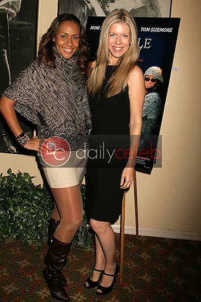 Kiki Haynes and Susan Duerden <br /> at the Los Angeles Screening of 'Double Duty'. Raleigh Studios, Los Angeles, CA. 12-13-08<br /> Dave Edwards/DailyCeleb.com 818-249-4998
