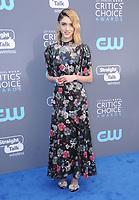 11 January 2018 - Santa Monica, California - Natalia Dryer. 23rd Annual Critics' Choice Awards held at Barker Hangar. <br /> CAP/ADM/BT<br /> &copy;BT/ADM/Capital Pictures