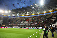 Choreographie der Eintracht Fans - 02.05.2019: Eintracht Frankfurt vs. Chelsea FC London, UEFA Europa League, Halbfinale Hinspiel, Commerzbank Arena DISCLAIMER: DFL regulations prohibit any use of photographs as image sequences and/or quasi-video.