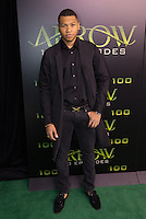 VANCOUVER, BC - OCTOBER 22: Franz Drameh at the 100th episode celebration for tv's Arrow at the Fairmont Pacific Rim Hotel in Vancouver, British Columbia on October 22, 2016. Credit: Michael Sean Lee/MediaPunch