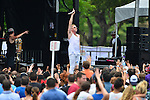 AVENTURA, FL - MAY 31: Macklemore performs at Aventura Mall Parking Lot on May 31, 2014 in Miami, Florida.  (Photo by Johnny Louis/jlnphotography.com)