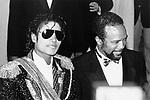 Michael Jackson & Quincy Jones 1984 Grammy Awards