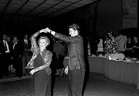 FILE - Fellini's wife Giulletta Massina dancing with david Lynch<br />  at the World Film Festival, September 1st, 1986<br /> <br />  Photo : Pierre Roussel - Agence Quebec Presse