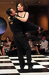 Beth Muecke and Adrian Ciobanu at the Dancing with the Houston Stars, a benefit for Houston Ballet, at the home of Becca and John Thrash Tuesday May 10,2011.(Dave Rossman/For the Chronicle)