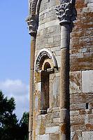 Romanische Kirche San Parteo bei Bastia, Korsika, Frankreich