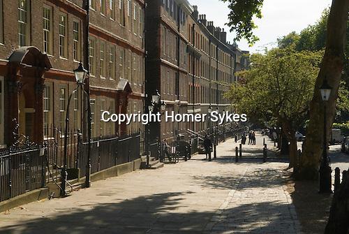 Kings Bench Walk. Inner Temple. Inns of Court, London UK