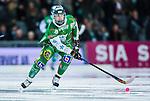 Stockholm 2014-01-10 Bandy Elitserien Hammarby IF - Sandvikens AIK :  <br />  Hammarbys Jesper Jonsson i aktion <br /> (Foto: Kenta J&ouml;nsson) Nyckelord:  portr&auml;tt portrait