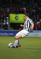 John McGinn in the St Mirren v St Johnstone Clydesdale Bank Scottish Premier League match played at St Mirren Park, Paisley on 8.12.12.