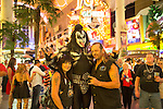 Doug and Lorrie Wedding at Golden Nugget on Fremont Street With The Reverend Las Vegas Gene Simmons