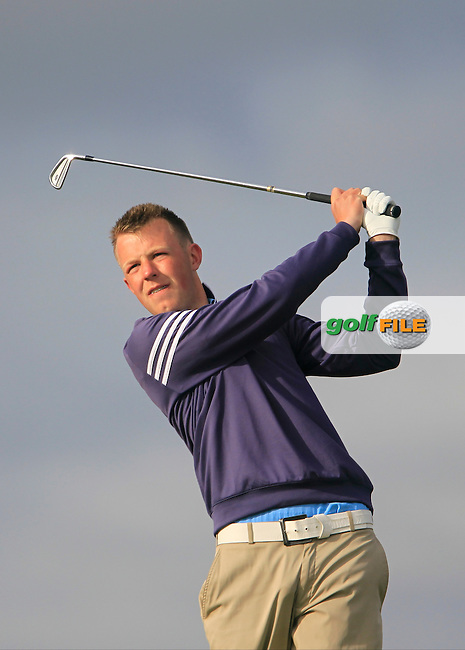 Paul McBride (The Island)<br /> during R1 of the East of Ireland Amateur Open championship 2013 at Co Louth Golf club, 1/6/13<br /> Picture:  Thos Caffrey / www.golffile.ie