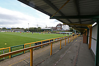 General view of the ground during Romford vs Hastings United, FA Trophy Football at Ship Lane on 8th October 2017