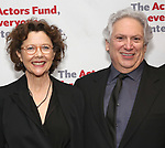 Annette Bening and Harvey Fierstein attends The Actors Fund Annual Gala at Marriott Marquis on April 29, 2019  in New York City.