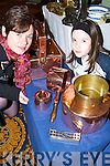 Bargain: Hunting for a good deal at the Antiques Fair in the Brandon Hotel, Tralee, on Sunday afternoon were Patsy and Elise OConnell of Alderwood Road..