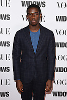 "LONDON, UK. October 31, 2018: Damson Idris at the ""Widows"" special screening in association with Vogue at the Tate Modern, London.<br /> Picture: Steve Vas/Featureflash"