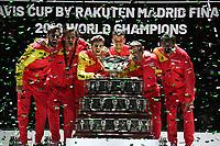 Tennis - Davis Cup Finale 2019 -  Victoire del espagne - Rafael Nadal <br /> Tennis Davis Cup 2019 <br /> Coppa Davis<br /> Foto Chryslene Caillaud / Panoramic / Insidefoto <br /> ITALY ONLY