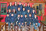 Ballydonoghue and Lisselton boys and girls who  Qualified to compete in the Community Games All Irelands Finals in Mosney were presented with jackets at the Thatch Bar Lisselton on Saturday night.  Pictured front l-r Paul O'Connor, Denis Horan, Jack Foley, Kieran Lynch, Darragh Sheehy, John Scully, Kevin O'Donnell.  Middle row l-r Sorcha Enright, Miora O'Connell, Kevin O'Neill, Stephen Foley, Jason Foley, Brian Seanachain.  Back row l-r Deidre McCarthy, Norma O'Sulliva, Brenda Foley, Zoe Hughes, Rebecca Lynch, Siobhan Donogan, missing from the picture are Alice Neville and Laura Foley..   Copyright Kerry's Eye 2008