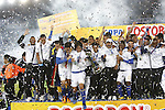 Millonarios venció 1-0 a Boyacá Chicó con gol de Candelo en el Campín y se coronó campeón de la Copa Colombia, su primer título después de diez años de sequía.