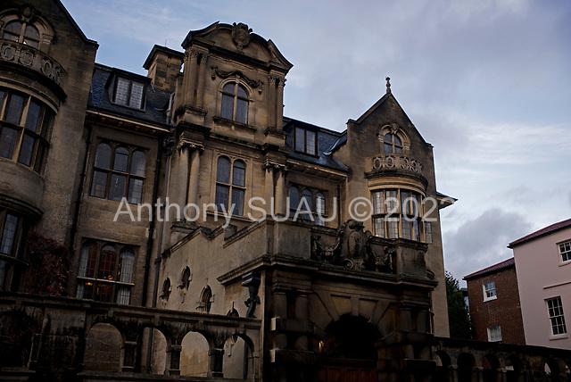 Oxford University<br /> Oxford, United Kingdom<br /> November 28, 2018<br /> <br /> Merton College. The library at Merton College.