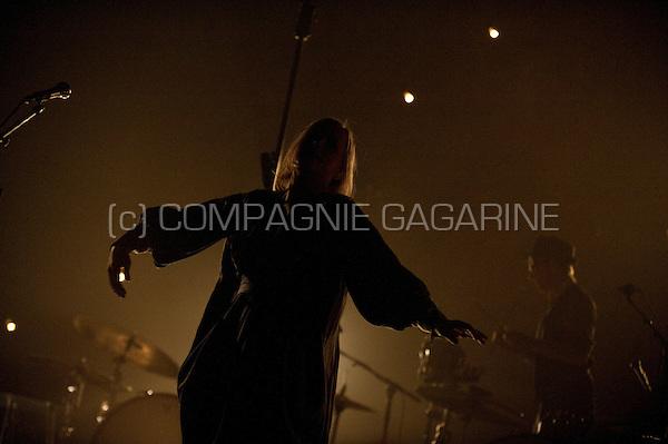 Concert of the Norwegian singer / songwriter Ane Brun in the Bourla, Antwerp (23/04/2012)