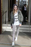 "Cara Delevingne leaving "" Le Meurice "" hotel in Paris - France"