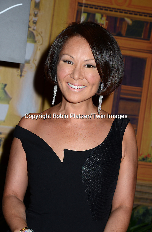 Alina Cho attends the New Yorkers for Children's Fall Gala on September 16, 2015 at Cipriani 42nd Street in New York City, New York, USA.<br /> <br /> photo by Robin Platzer/Twin Images<br />  <br /> phone number 212-935-0770