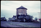 &quot;276-12 Locomotives take water at Antonito, CO.&quot;<br /> D&amp;RGW  Antonito, CO  Taken by Owen, Mac - 6/1975