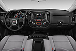 Stock photo of straight dashboard view of 2016 GMC Sierra-1500 2WD-Regular-Cab-Long-Box 2 Door Pick-up Dashboard