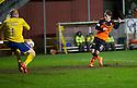 Dundee Utd's Aidan Connolly scores their third goal.