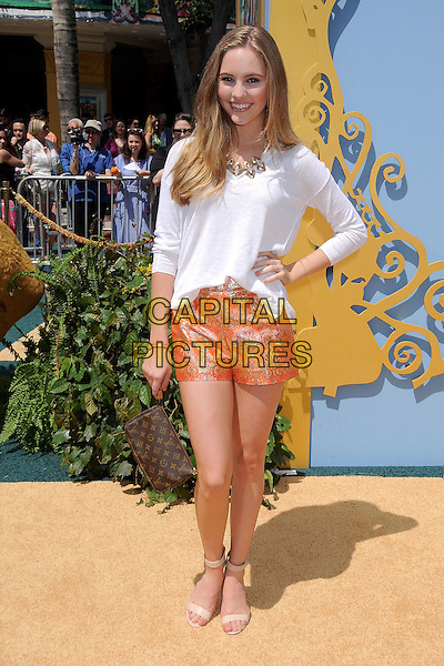 03 May 2014 - Westwood, California - Ella Wahlestedt. &quot;Legends of Oz: Dorothy's Return&quot; Los Angeles Premiere held at the Regency Village Theatre.  <br /> CAP/ADM/BP<br /> &copy;Byron Purvis/AdMedia/Capital Pictures