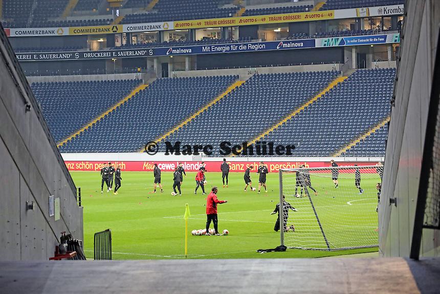 Eintracht Frankfurt Europa League Abschlustraining