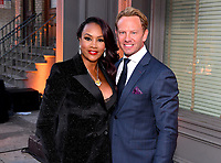 BEVERLY HILLS - AUGUST 7: Vivica A. Fox and Ian Ziering attend the FOX 2019 Summer TCA All-Star Party on New York Street on the FOX Studios lot on August 7, 2019 in Los Angeles, California. (Photo by Vince Bucci/FOX/PictureGroup)