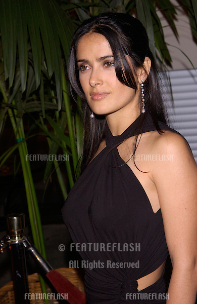 Actress SALMA HAYEK at Stars 2001 Gala honoring Jeffrey Katzenberg. The event also marked the grand opening of the new Hollywood & Highland entertainment complex..08NOV2001.  © Paul Smith/Featureflash