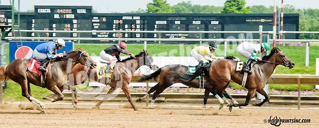 winning at Delaware Park on 6/26/13