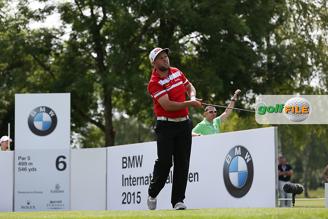 Andrew Johnston (ENG) during Round One of the 2015 BMW International Open at Golfclub Munchen Eichenried, Eichenried, Munich, Germany. 25/06/2015. Picture David Lloyd | www.golffile.ie