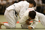 (L-R)<br /> Momo Tamaoki,<br /> Christa Deguchi,<br /> September 13, 2014 - Judo : <br /> All Japan Juior Judo Championships <br /> Women's -57kg Final <br /> at Saitama Kenritsu Budokan, Saitama, Japan. <br /> (Photo by Shingo Ito/AFLO SPORT) [1195]