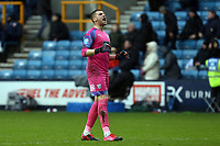 Sam Johnstone of West Bromwich Albion celebrates the victory after Millwall vs West Bromwich Albion, Sky Bet EFL Championship Football at The Den on 9th February 2020