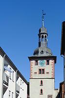 Brunntorturm in  Klingenberg am Main, Bayern, Deutschland