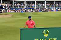 Jon Rahm (ESP) at the 18th green during Sunday's Final Round of the Dubai Duty Free Irish Open 2019, held at Lahinch Golf Club, Lahinch, Ireland. 7th July 2019.<br /> Picture: Eoin Clarke | Golffile<br /> <br /> <br /> All photos usage must carry mandatory copyright credit (© Golffile | Eoin Clarke)