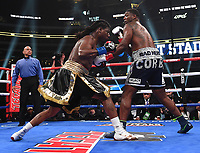 DALLAS, TX - MARCH 16: Charles Martin fights Gregory Corbin at the Fox Sports PBC Pay-Per-View fight night at AT&T Stadium on March 16, 2019 in Dallas, Texas. (Photo by Frank Micelotta/Fox Sports/PictureGroup)