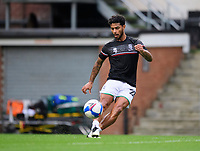 Lincoln City's Liam Bridcutt during the pre-match warm-up<br /> <br /> Photographer Chris Vaughan/CameraSport<br /> <br /> Carabao Cup Second Round Northern Section - Bradford City v Lincoln City - Tuesday 15th September 2020 - Valley Parade - Bradford<br />  <br /> World Copyright © 2020 CameraSport. All rights reserved. 43 Linden Ave. Countesthorpe. Leicester. England. LE8 5PG - Tel: +44 (0) 116 277 4147 - admin@camerasport.com - www.camerasport.com