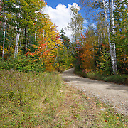 This is the image for October in the 2014 White Mountains New Hampshire calendar. Old Jefferson Turnpike (now Old Cherry Mountain Road) in the White Mountains, New Hampshire . Purchase the calendar here: http://bit.ly/1audUBp .