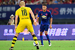 Manchester United midfielder Jesse Lingard (r) during the International Champions Cup China 2016, match between Manchester United vs Borussia  Dortmund on 22 July 2016 held at the Shanghai Stadium in Shanghai, China. Photo by Marcio Machado / Power Sport Images
